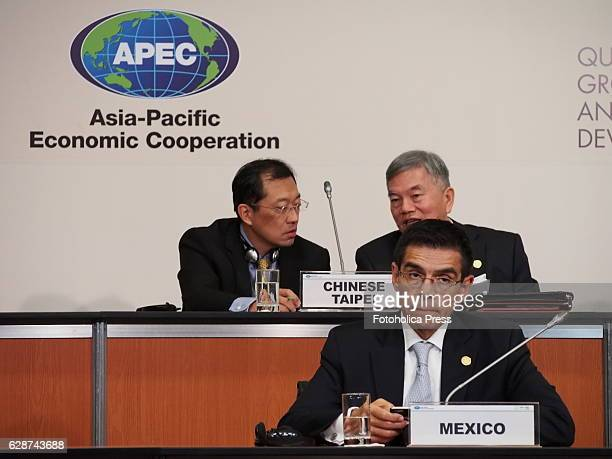 Members of Mexico and China Taipei delegations attending to Small and Micro Enterprises meeting of APEC 2016