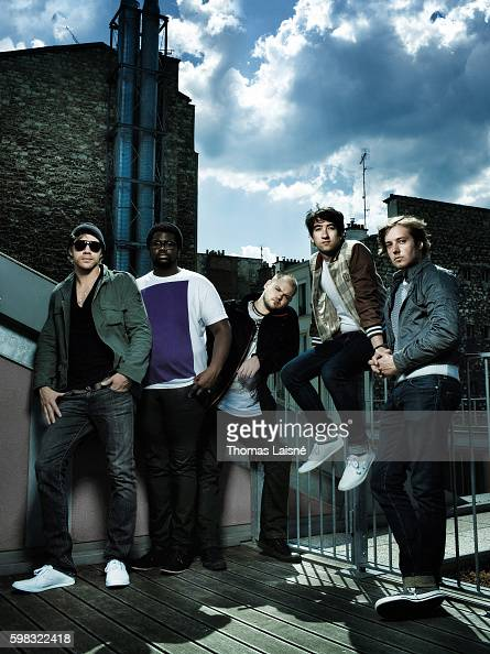 Members of music band Plain White T's are photographed for Self Assignment on May 8 2008 in Paris France