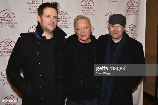 Members of New Order attend the after party for the Tibet House US 30th Anniversary Benefit Concert Gala to celebrate Philip Glass's 80th Birthday at...
