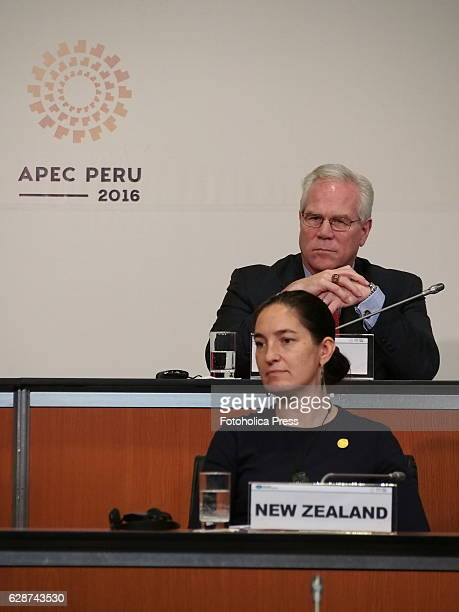 Members of New Zealand and USA delegations attending to Small and Micro Enterprises meeting of APEC 2016