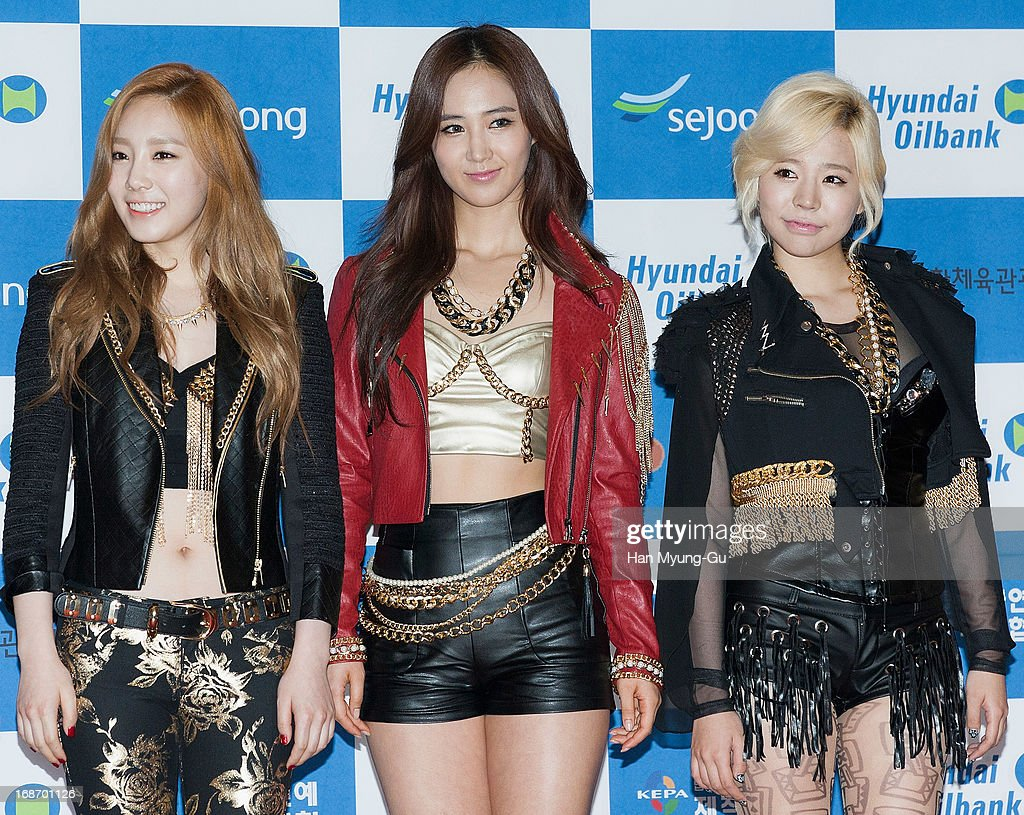 Members of South Korean girl group Girls' Generation attend during 2013 Dream Concert at Seoul World Cup Stadium on May 11, 2013 in Seoul, South Korea.