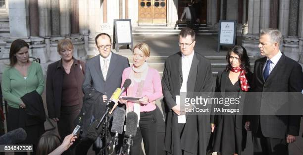 Members of 'Tapas Seven' Jane Tanner Dianne Webster David Payne Fiona Payne an unnamed lawyer representing the group Rachel Oldfield and Dr Matthew...