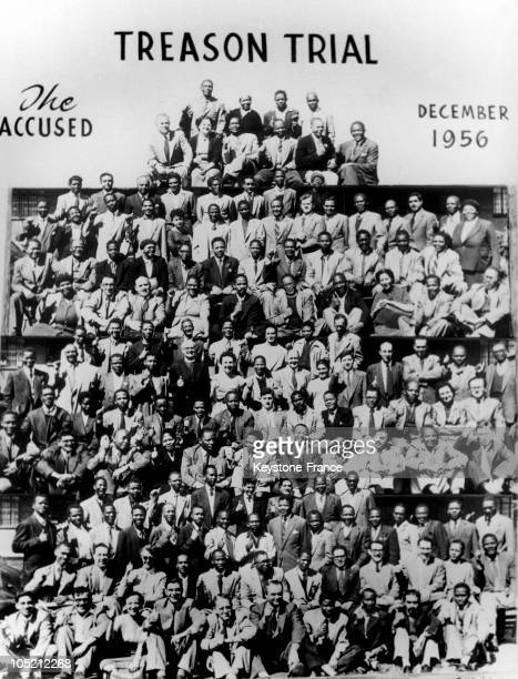 Members Of The African National Congress Natives Europeans Indians And Mulattoes Between 1956 And 1961 Including Nelson Mandela Walter Sisulu And...