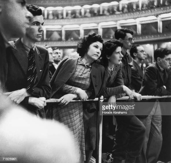Members of the audience at the first season of the Proms at the Royal Albert Hall 1941