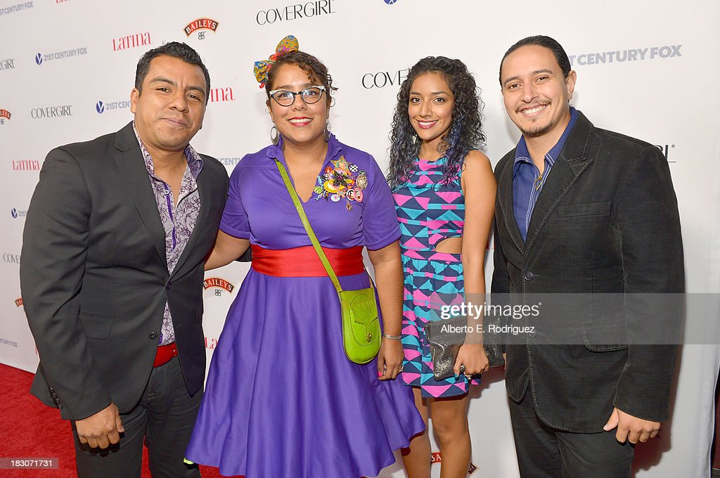 Members of the band La Santa Cecilia attend Latina Magazine's 'Hollywood Hot List' party at The Redbury Hotel on October 3, 2013 in Hollywood, California.