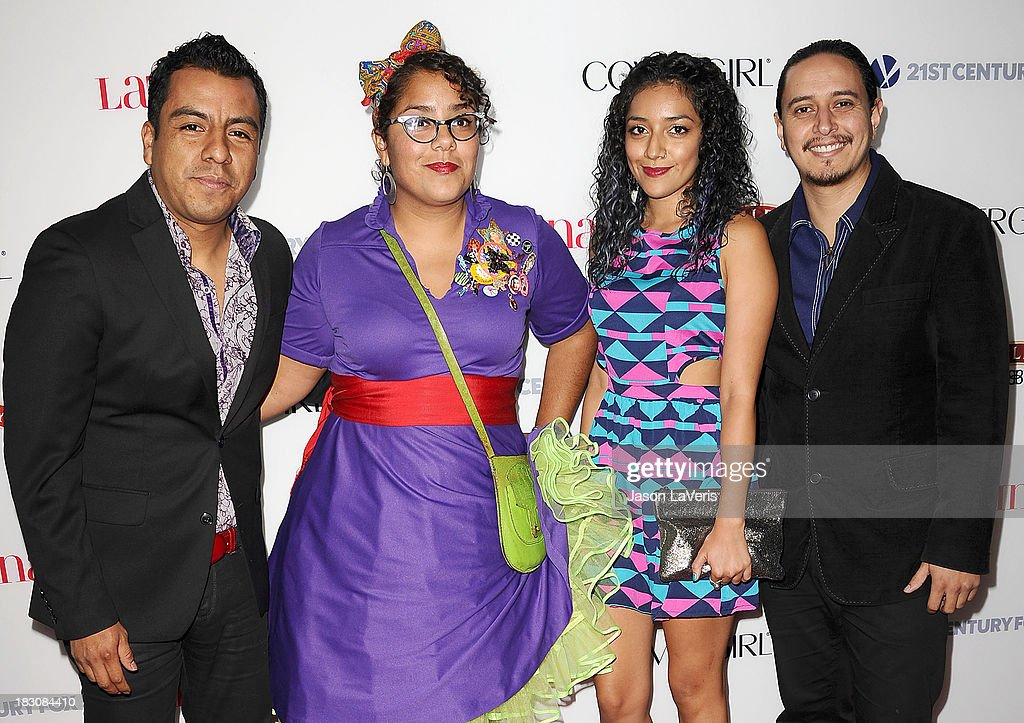 Members of the band La Santa Cecilia attends the Latina Magazine 'Hollywood Hot List' party at The Redbury Hotel on October 3, 2013 in Hollywood, California.