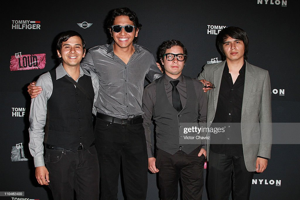 Members of the band Maddevi attend the Nylon Mexico magazine 2nd anniversary party at Alameda Poniente on March 16, 2011 in Mexico City, Mexico.