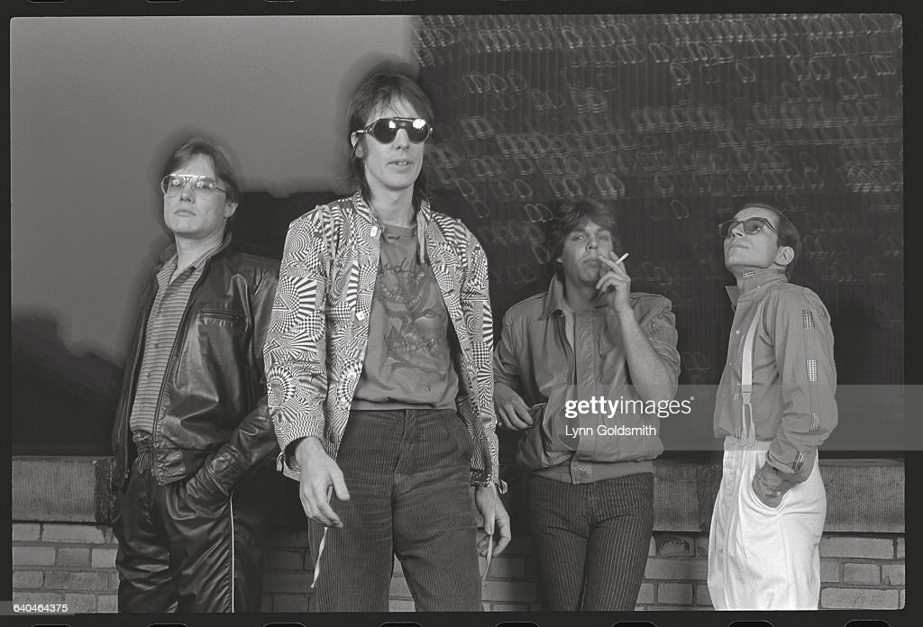 Members of the band Utopia from left to right: Jon Wilcox, <a gi-track='captionPersonalityLinkClicked' href=/galleries/search?phrase=Todd+Rundgren&family=editorial&specificpeople=669124 ng-click='$event.stopPropagation()'>Todd Rundgren</a>, Kasim Sulton, and Roger Powell.