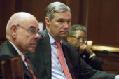 Members of the Bicameral Task Force On Climate Change Rep Henry Waxman Sen Sheldon Whitehouse and Delegate Donna Christensen lead a discussion about...