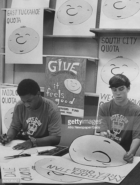 Members of the Boys and Girls Club of America 1975