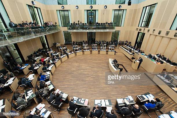 Members of the Bundesrat attend a session at the plenary hall on December 14 2012 in Berlin German lawmakers launched a new bid to press the...