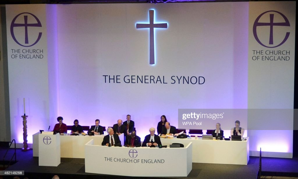 Members of the Church of England's Synod attend the session tol discuss and vote on the consecration of women bishops on July 14, 2013 in York, England. The Synod contradicted tradition today and voted to give women the right to be bishops of the Church of England.