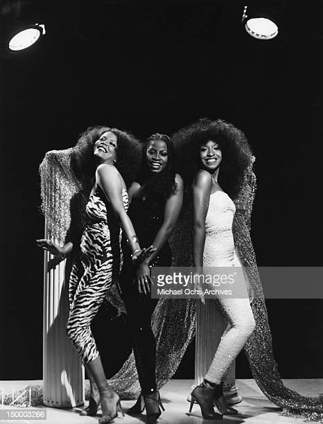 Members of the disco group 'Musique' which had 2 different lineups and was the brain child of producer Patrick Adams pose for a portrait in circa1978...