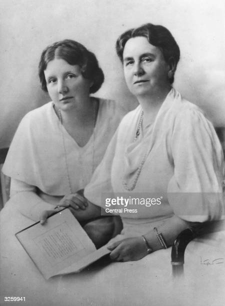 Members of the Dutch Royal Family Queen Wilhelmina and her daughter Princess Juliana