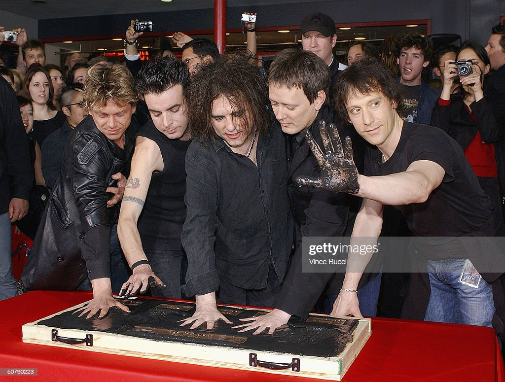 Perry bamonte stock photos and pictures getty images - Members Of The English Rock Band The Cure From Left Jason Cooper