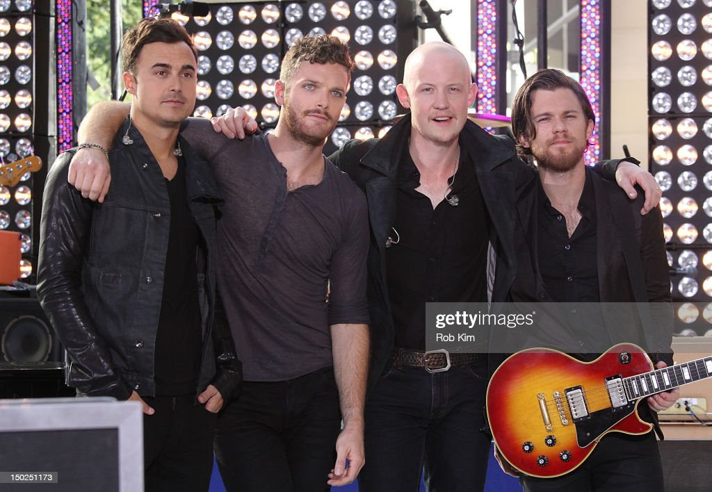 """The Fray Performs On NBC's """"Today"""""""