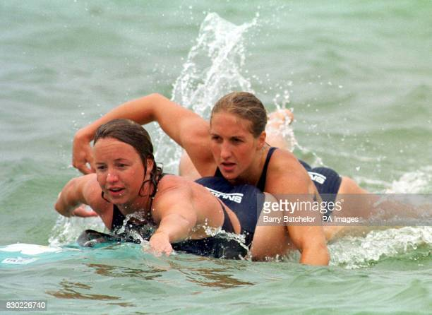 Members of the Great Britain take to the water for the inaugural European Life Saving Championships as more than 100 of the bravest and best...