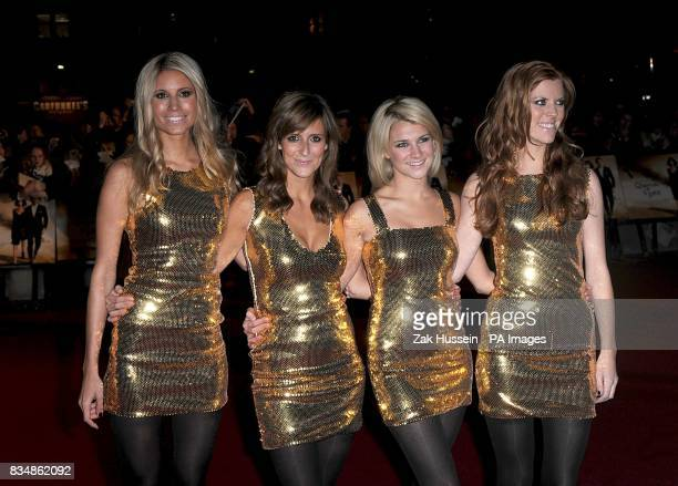 Members of the group Escala arrive for the World premiere of 'Quantum Of Solace' at the Odeon Leicester Square WC2