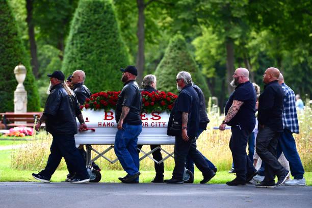 DEU: Hells Angels Funeral For Member Rainer Kopperschmidt