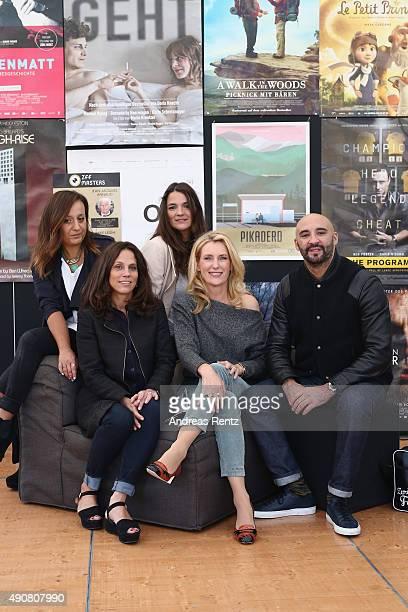 Members of the International Feature Film Jury Rosa Attab Yann Demange Katja von Garnier jury president Elizabeth Karlsen and Maria Furtwaengler...