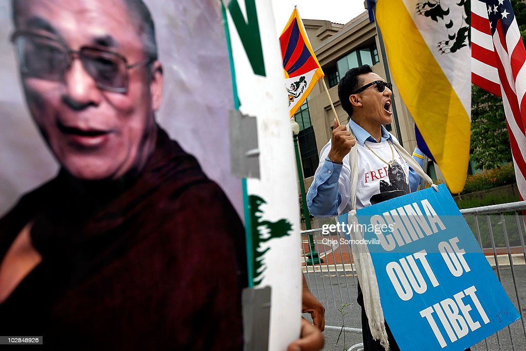 Us Tibet Chinese Embassy Stock Photos and Pictures | Getty Images