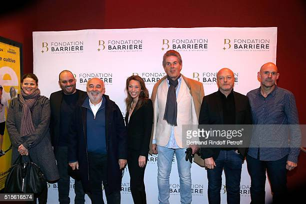 Members of the Jury Director Lea Fazer Actors Jerome Commandeur Gerard Jugnot Laura Smet CEO of Lucien Barriere Group Dominique Desseigne Director...