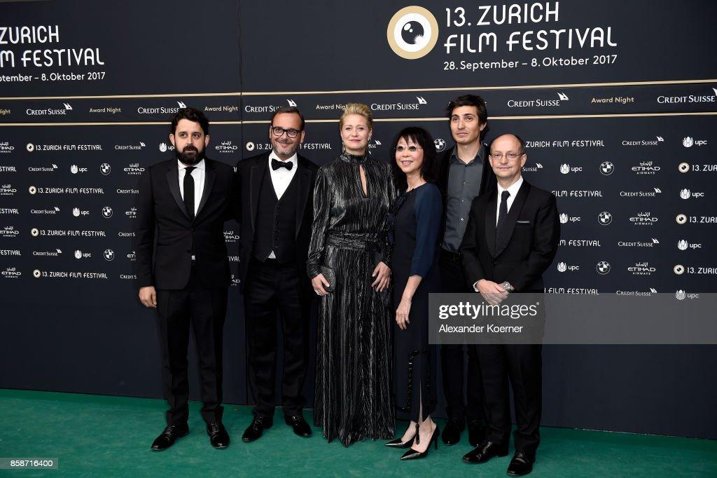 Award Night Arrivals - 13th Zurich Film Festival
