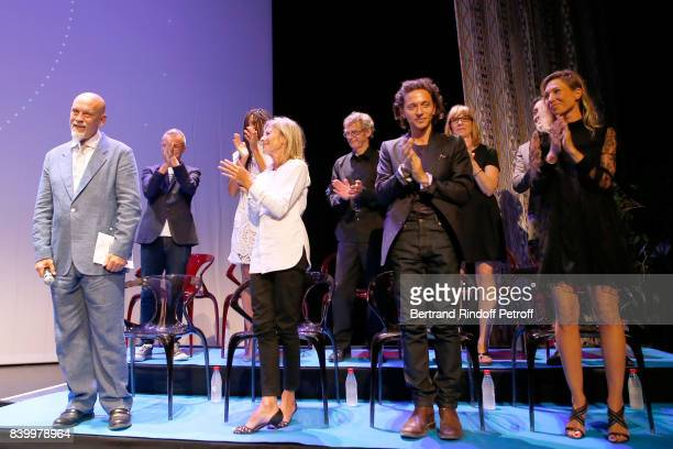 Members of the Jury President of the Jury John Malkovich Philippe Besson Stefi Celma Claire Chazal Lucas Belvaux Raphael Denise Robert Ivan Guyot and...