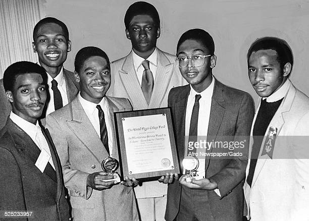 Members of the Kappa Alpha Psi fraternity 1980