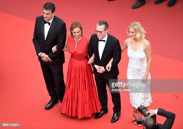 Members of the L'Oeil d'Or Jury Israeli cinematographer Dror Moreh French actress Sandrine Bonnaire Italian film critic Lorenzo Codelli and British...