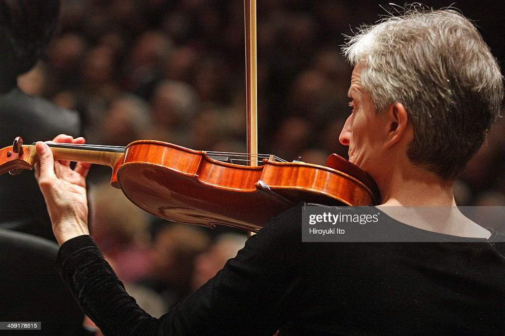 Members of the New York Philharmonic performing the music of Beethoven and Strauss on Thursday night December 12 2013