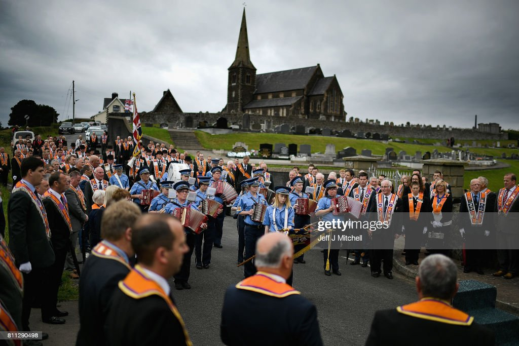 Church Service Takes Place At Drumcree Ahead Of The Battle Of The Boyne Anniversary