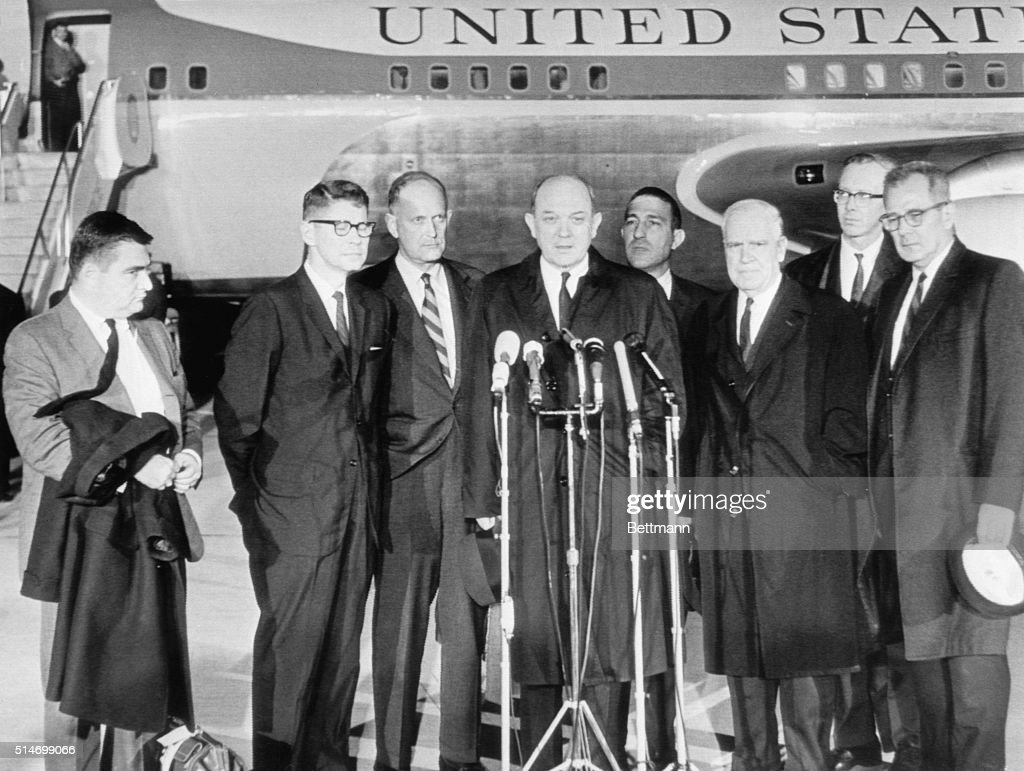 The Press Cabinet President Kennedys Cabinet Officers After Assassination Pictures