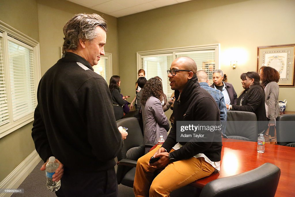 TOUR 2013 - Members of the press were invited to interview cast members and tour the set of ABC's 'Scandal' during the second day of Disney | ABC Television Group's Winter Press Tour 2013. COLUMBUS