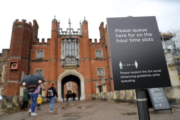 GBR: Hampton Court Palace Tudor Gardens Reopening