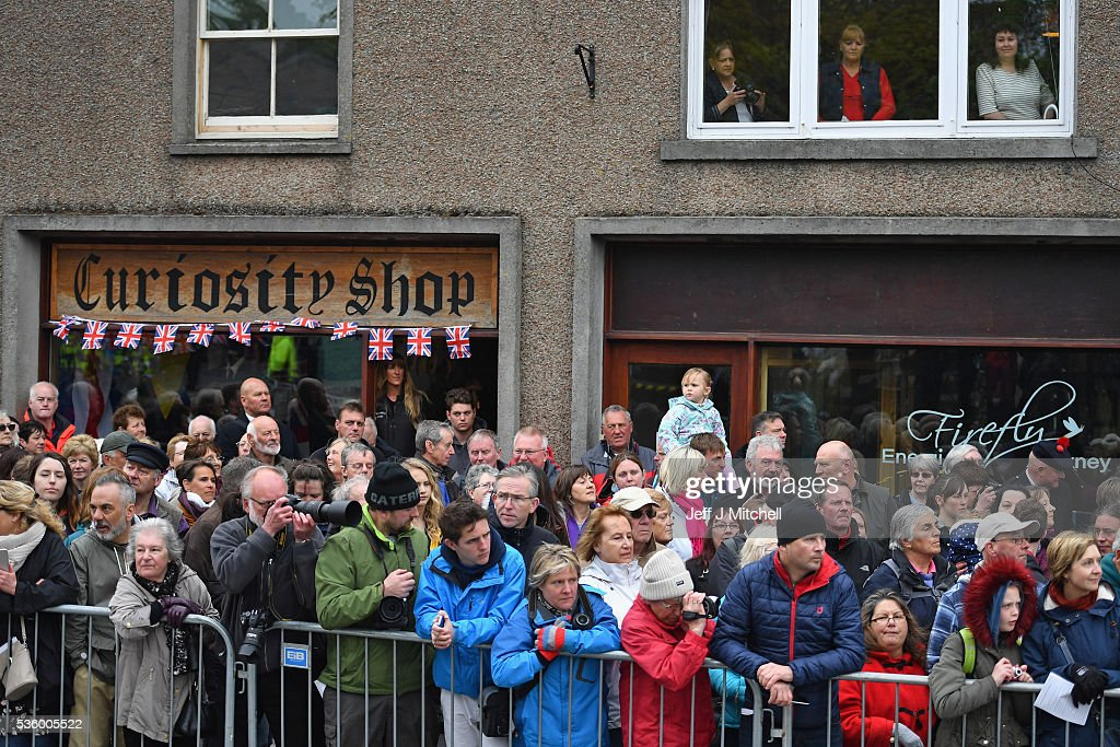 Members of the public attend the 100th anniversary commemorations for the Battle of Jutland at St Magnus Cathedral on May 31, 2016 in Kirkwall, Scotland. The event marks the centenary of the largest naval battle of World War One where more than 6,000 Britons and 2,500 Germans died in the Battle of Jutland fought near the coast of Denmark on 31 May and 1 June 1916