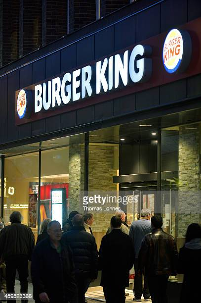 burger king corp stock photos and pictures getty images. Black Bedroom Furniture Sets. Home Design Ideas