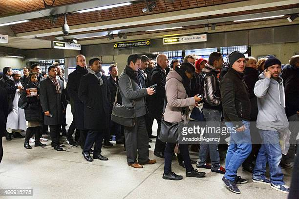 Members of the Rail Maritime Transport Workers Union and The Transport Salaried Staffs Association unions employed by London Underground begin a 48...