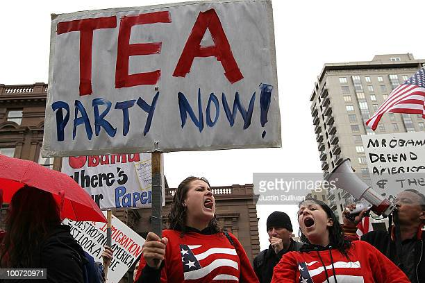 Mouvement Tea Party Photos et images de collection | Getty ...