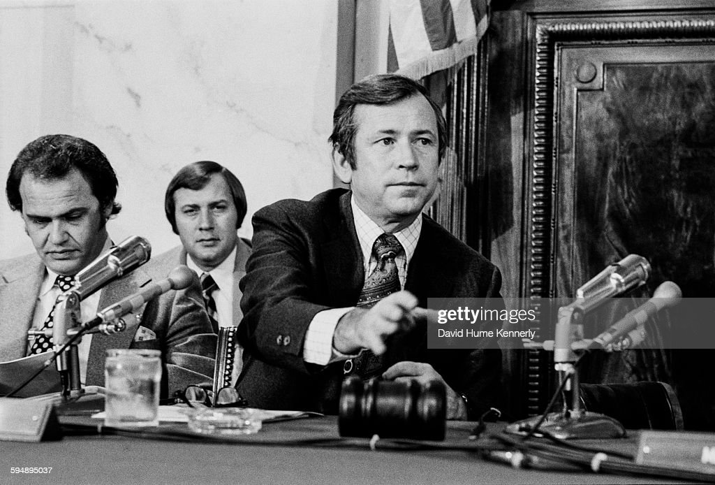 Image result for photos of watergate hearings