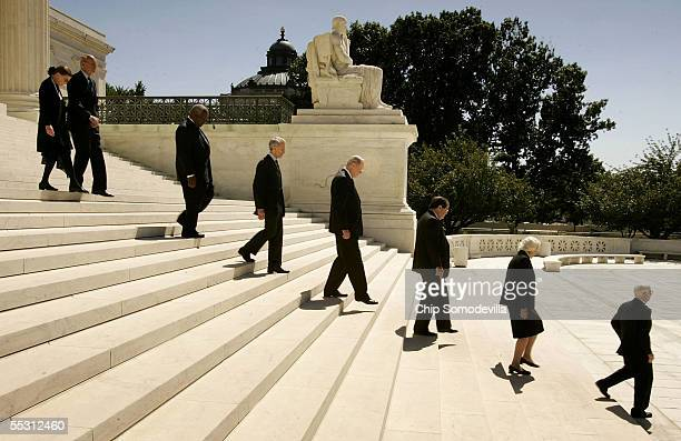 Members of the US Supreme Court Justice Ruth Bader Ginsburg Justice Stephen Breyer Justice Clarence Thomas Justice David Souter Justice William...