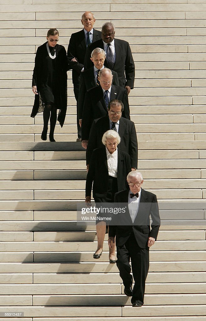 Members of the US Supreme Court Justice Stephen Breyer Justice Ruth Bader Ginsburg Anthony Clarence Thomas Justice David Souter Justice William...