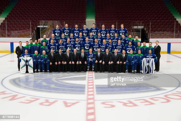 Members of the Vancouver Canucks Front Row Jacob Markstrom Perry Pearn Assistant Coach Doug Jarvis Assistant Coach Jonathan Wall Director of Hockey...