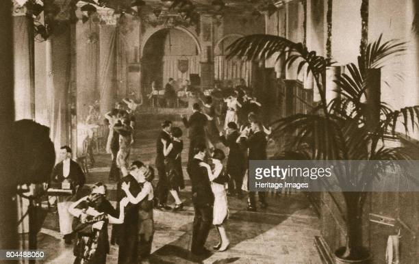 Members on the dance floor at Murray's Club Soho London c1920s Founded in 1913 Murray's Club was formerly the old Blanchard's restaurant a famous...