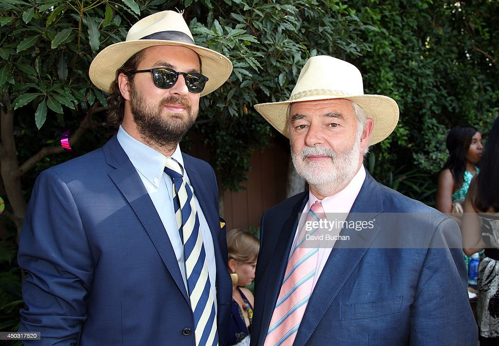 LA members Rupert Perry and Manhatten Perry attend the BAFTA LA Garden Party at the British Consul General's Residence on June 8, 2014 in Los Angeles, California.Ê