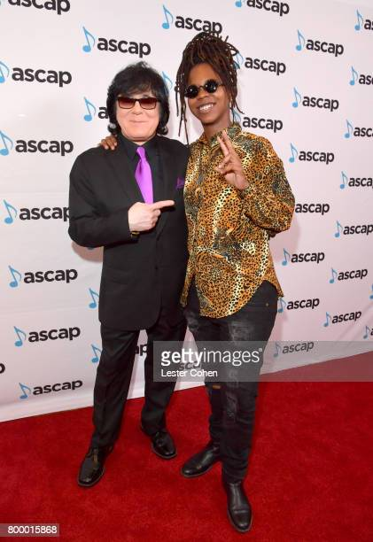 EVP/ Membership ASCAP John Titta and Gizzle at the ASCAP 2017 Rhythm Soul Music Awards at the Beverly Wilshire Four Seasons Hotel on June 22 2017 in...
