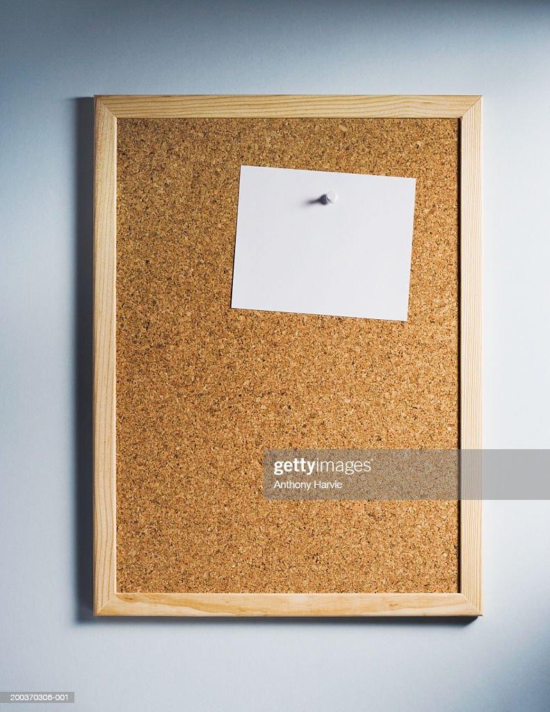 Memo cork board : Stock Photo