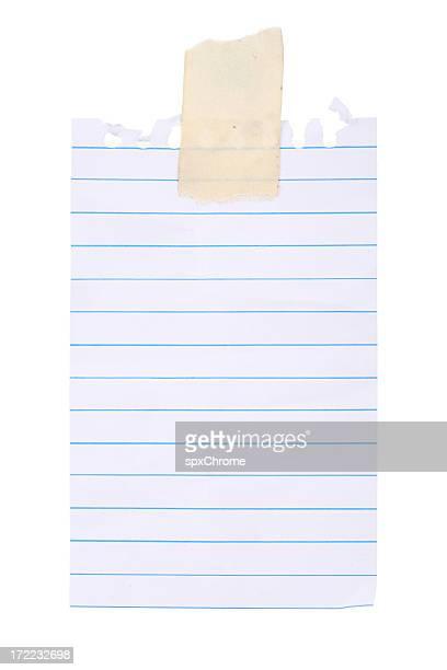 Memo Pad Note