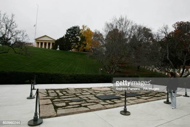 JFK Memorial at Arlington National Cemetery Arlington Virginia