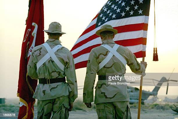 Memorial For Fallen U.S. Marines